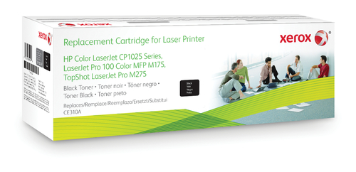 XEROX 106R02257 COMPATIBLE TONER BLACK, 1.2K PAGES @ 5% COVERAGE (REPLACES HP 126A)