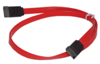 MICROCONNECT SAT15003 0.3M SATA CABLE RED 7-PIN
