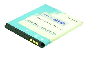2-POWER MBI0106A LITHIUM-ION 1200MAH 3.7V RECHARGEABLE BATTERY