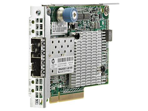 HPE 700751-B21 FLEXFABRIC 10GB 2-PORT 534FLR-SFP+ ADAPTER INTERNAL FIBER 10000MBIT/S NETWORKING CARD
