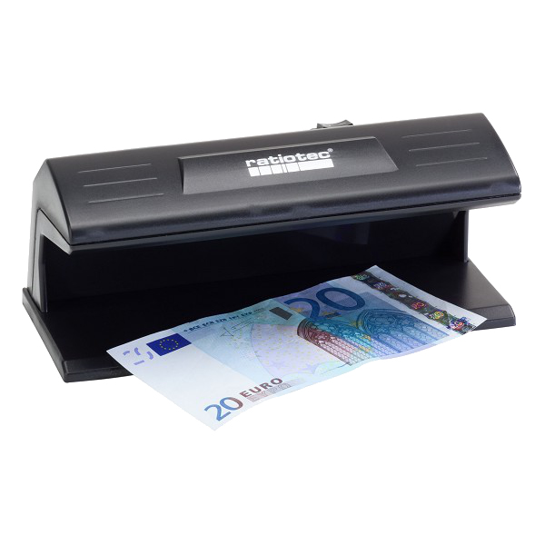 RATIOTEC 64120 SOLDI 120 BLACK COUNTERFEIT BILL DETECTOR