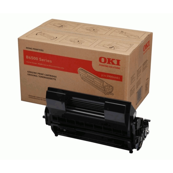 OKI 9004461 09004461 TONER BLACK, 13K PAGES @ 5% COVERAGE
