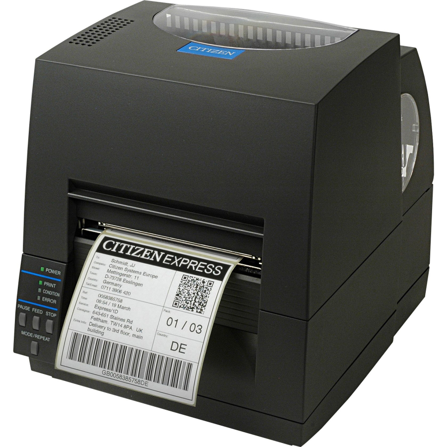CITIZEN 1000817 CL-S621 DIRECT THERMAL / TRANSFER 203 X 203DPI LABEL PRINTER