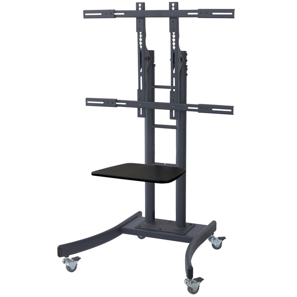 VALUE 17.99.1165 LCD/TV MOBILE CART, HEAVY WEIGHT (UP TO 125KG)