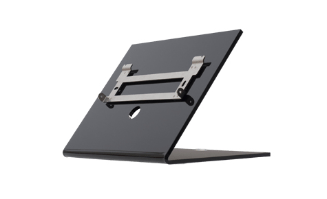 2N TELECOMMUNICATIONS 91378382 INDOOR TOUCH DESK STAND BLACK