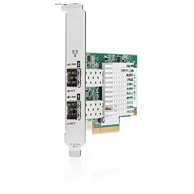 HPE 728987-B21 10GB 2X 571SFP+ INTERNAL FIBER 10000MBIT/S NETWORKING CARD