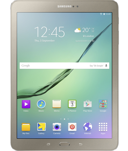 SAMSUNG SM-T813NZDEBTU GALAXY TAB S2 SM-T813 32GB GOLD QUALCOMM SNAPDRAGON APQ8076 TABLET