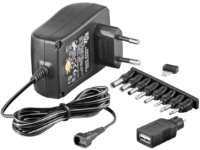 MICROCONNECT PETRAVEL30 3-12V UNIV. POWER SUPPLY