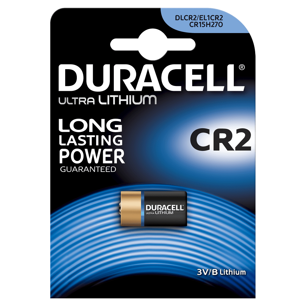 DURACELL 20306 CR2 LITHIUM 3V NON-RECHARGEABLE BATTERY