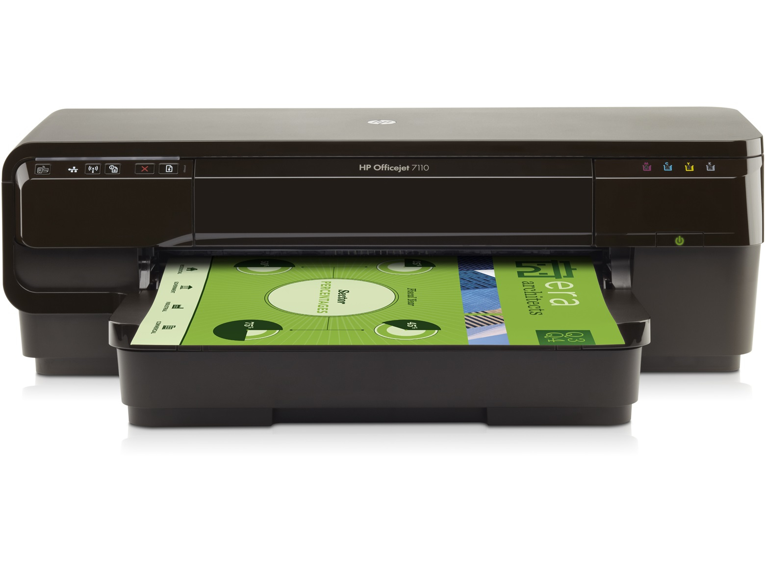 HP CR768A#A81 OFFICEJET 7110 WIDE FORMAT EPRINTER COLOUR 4800 X 1200DPI A3 WI-FI INKJET PRINTER