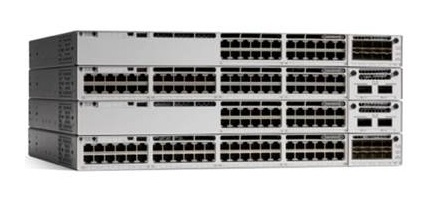 CISCO C9300-24P-E CATALYST MANAGED L2/L3 GIGABIT ETHERNET (10/100/1000) POWER OVER (POE) 1U GREY NETWORK SWITCH