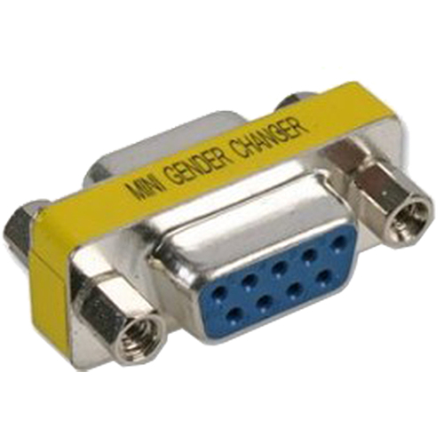 CABLENET GENCHAN9FF CABLE INTERFACE/GENDER ADAPTER DB9 BLUE, SILVER, YELLOW