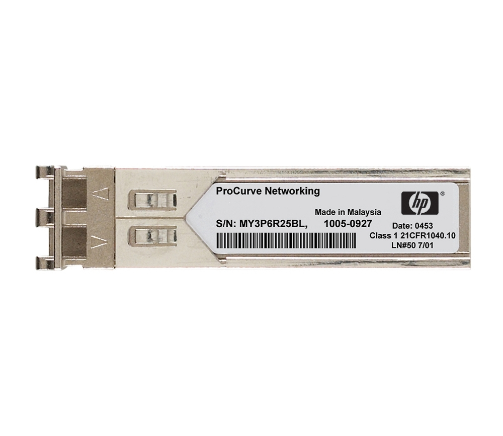 HPE JD092B X130 10G SFP+ LC SR FIBER OPTIC 850NM 10000MBIT/S NETWORK TRANSCEIVER MODULE REFURBISHED