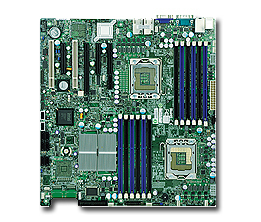 SUPERMICRO MBD-X8DTI-F-B INTEL 5520 EXTENDED ATX SERVER/WORKSTATION MOTHERBOARD