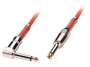 LINDY 6006 6.3MM M/M 6.0M AUDIO CABLE 6 M 6.35MM RED