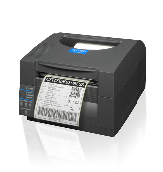 CITIZEN 1000817EPP CL-S621 DIRECT THERMAL POS PRINTER 203 X 203DPI