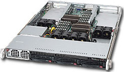 SUPERMICRO SYS-6016GT-TF 6016GT-TF INTEL 5520 SOCKET B (LGA 1366) 1U BLACK