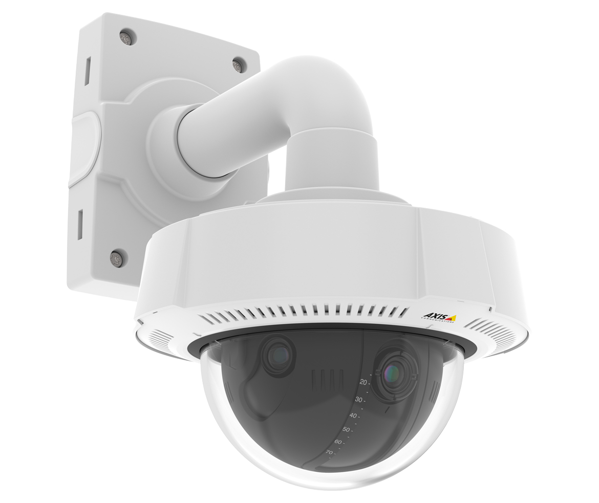 AXIS 0801-001 Q3708-PVE IP SECURITY CAMERA INDOOR & OUTDOOR DOME WHITE 2560 X 1440 PIXELS