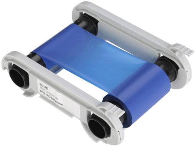 EVOLIS RCT012NAA BLUE PRINTER RIBBON