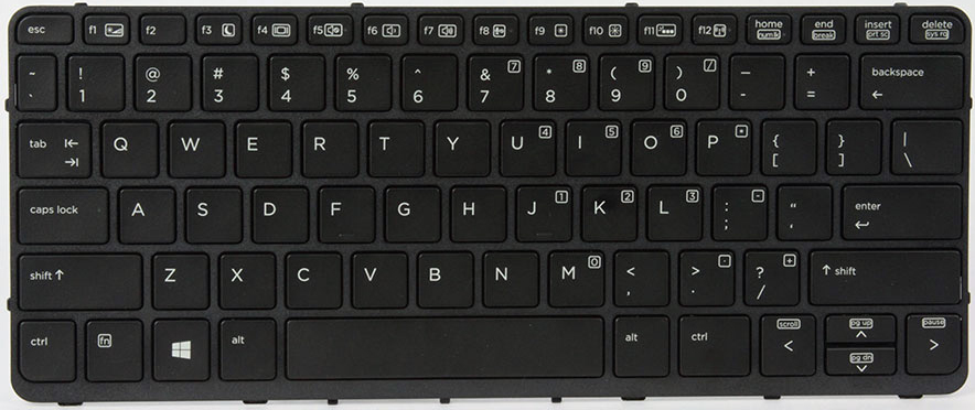 HP 766641-031 KEYBOARD