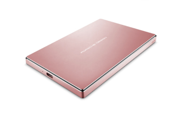 LACIE STFD2000406 EXTERNAL HARD DRIVE 2000 GB PINK GOLD