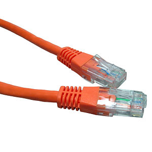 CABLES DIRECT 99LHT6-603/O 3M CAT6 NETWORKING CABLE ORANGE
