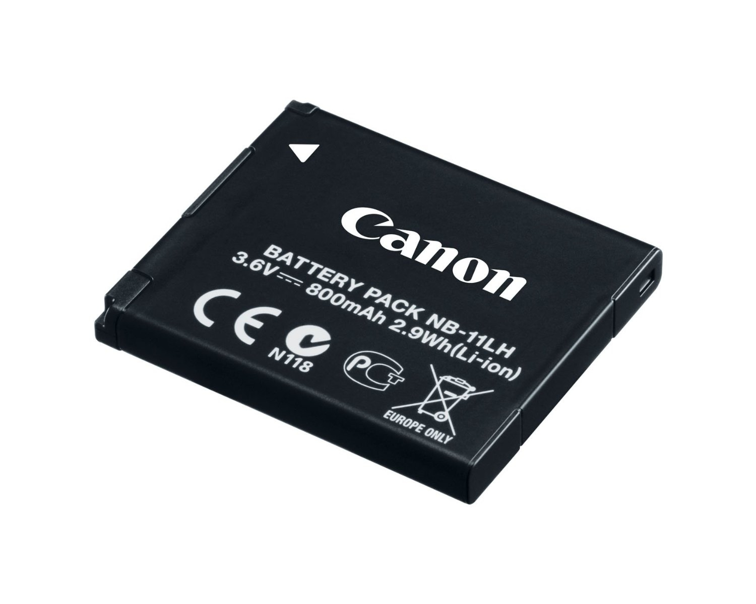 CANON 9391B001 NB-11LH LITHIUM-ION 800MAH 3.6V RECHARGEABLE BATTERY