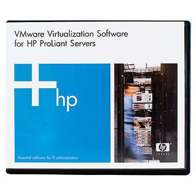 HPE BD535A VMWARE VCENTER SITE RECOVERY MANAGER 25 VIRTUAL MACHINES 5YR SOFTWARE VIRTUALIZATION