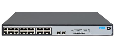 HPE JH018A 1420-24G-2SFP+ 10G UNMANAGED NETWORK SWITCH L2 GIGABIT ETHERNET (10/100/1000) GREY
