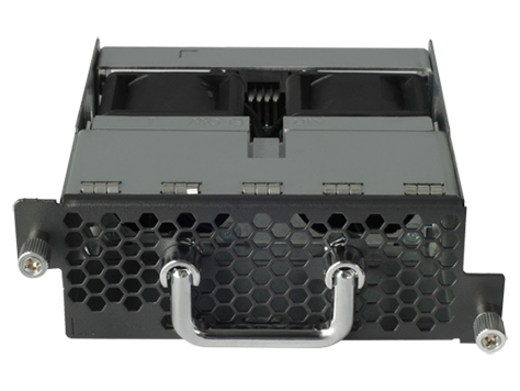 HPE JC682A 58X0AF BACK (POWER SIDE) TO FRONT (PORT AIRFLOW FAN TRAY