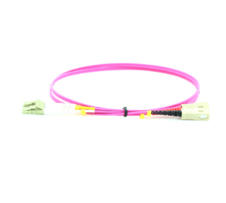 MICROCONNECT FIB422010P FIBER OPTIC CABLE 10 M OM4 LC/PC SC/PC VIOLET