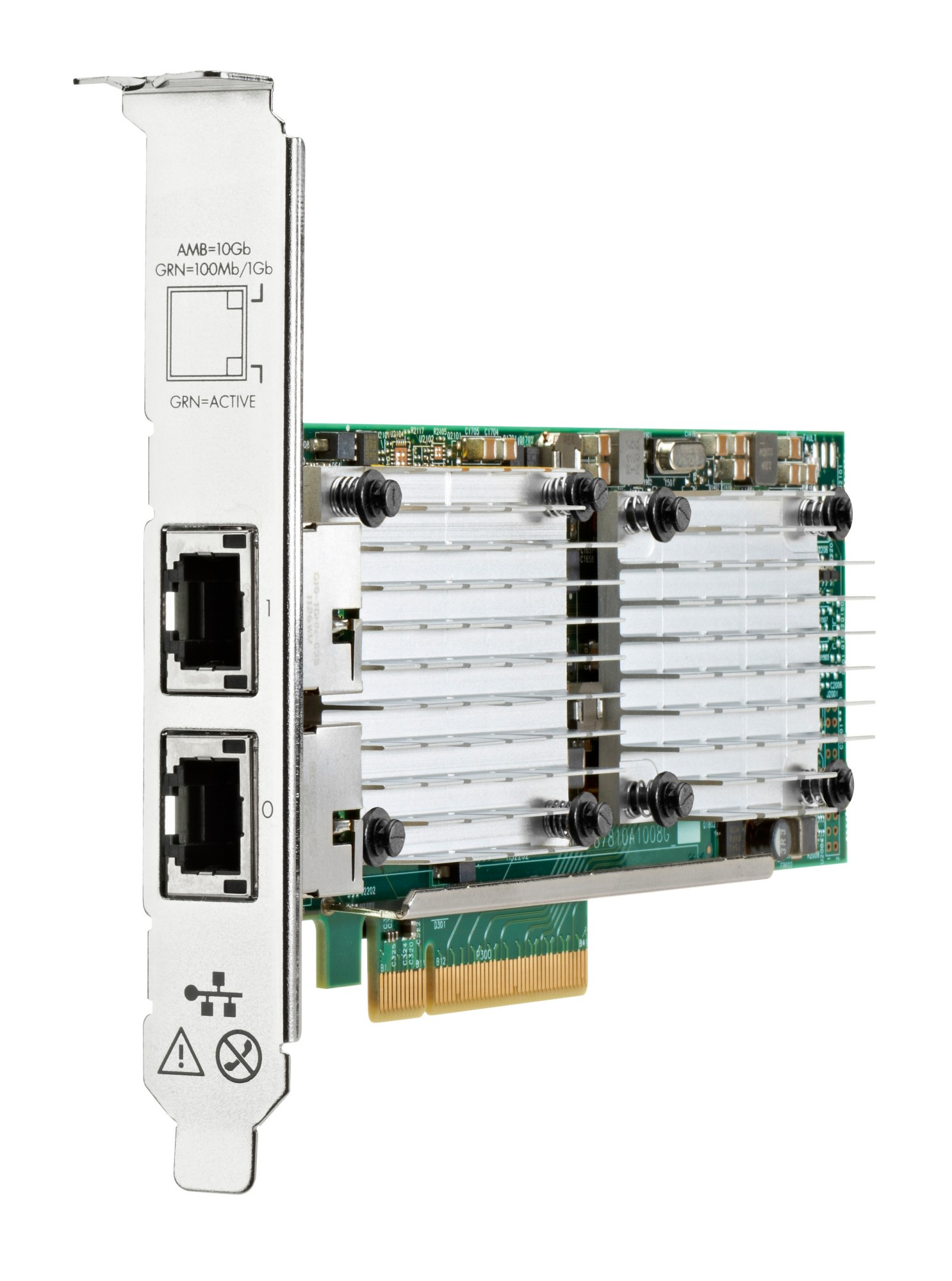 HPE 656596-B21-3 ETHERNET 10GB 2-PORT 530T INTERNAL 20000MBIT/S NETWORKING CARD