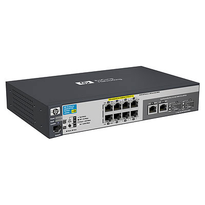 HPE J9562A E2915-8G-POE MANAGED NETWORK SWITCH L3 POWER OVER ETHERNET (POE)