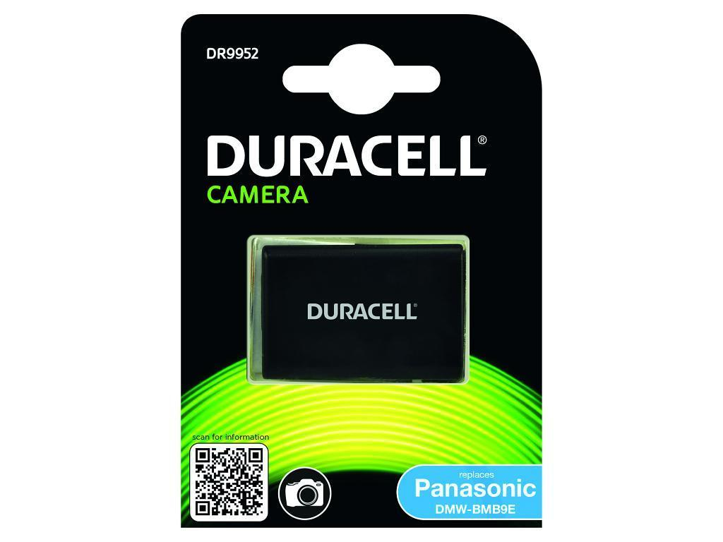 DURACELL DR9952 CAMERA BATTERY - REPLACES PANASONIC DMW-BMB9E RECHARGEABLE
