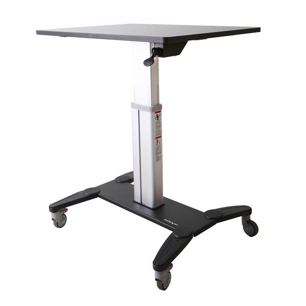 STARTECH STSCART MOBILE SIT-STAND WORKSTATION