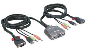 LINDY 32797 KVM SWITCH COMPACT