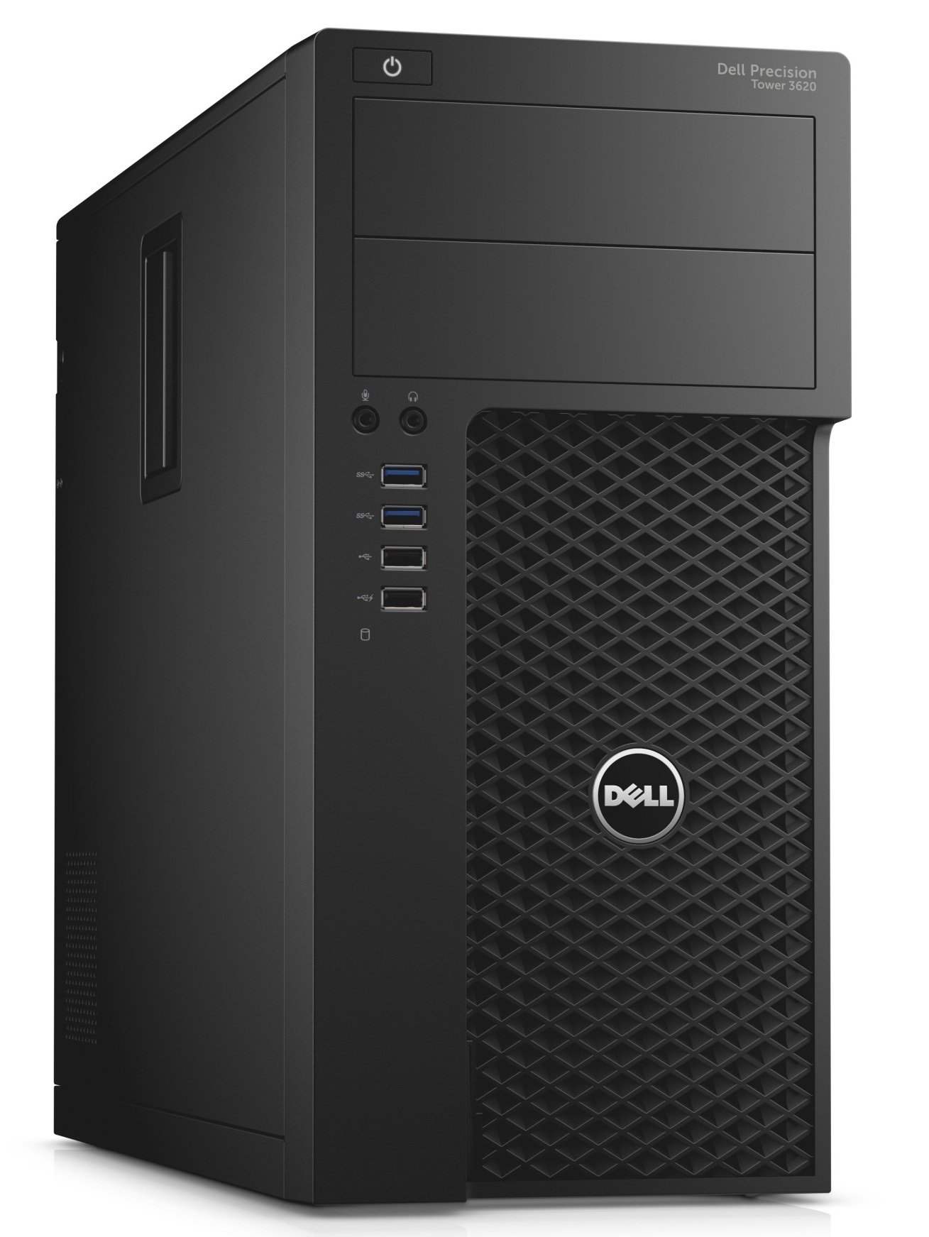 DELL GD1PX PRECISION T3620 3.7GHZ E3-1240V6 MINI TOWER BLACK WORKSTATION