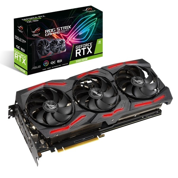 ASUS 90YV0DQ0-M0NA00 graphics card GeForce RTX 2060 SUPER 8 GB GDDR6