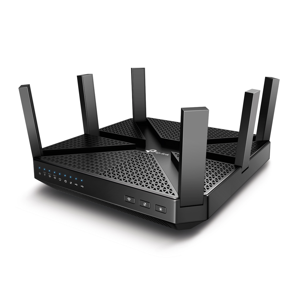 TP-LINK ARCHER C4000 WIRELESS ROUTER TRI-BAND (2.4 GHZ / 5 GHZ / 5 GHZ) GIGABIT ETHERNET BLACK