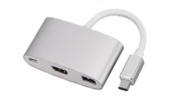 DYNAMODE C-TC-HDMI-USB3 INTERFACE HUB USB 3.0 (3.1 GEN 1) TYPE-C SILVER