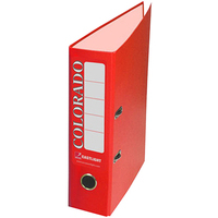 Rexel Colorado A4 Lever Arch File Red (10)