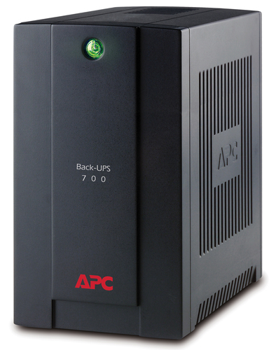 APC BACK-UPS LINE-INTERACTIVE 700VA 4AC OUTLET(S) TOWER BLACK UPS