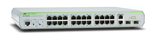 ALLIED TELESIS AT-FS926M-50 MANAGED NETWORK SWITCH L2 FAST ETHERNET (10 - 100) 1U GREY