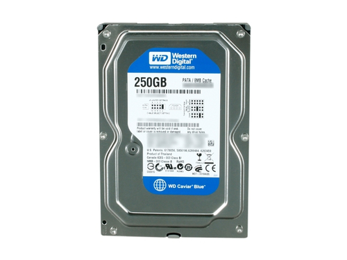 WESTERN DIGITAL CAVIAR BLUE 250GB HDD PARALLEL ATA INTERNAL HARD DRIVE REFURBISHED