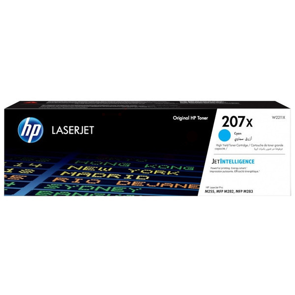 HP W2211X (207X) Toner cyan, 2.45K pages