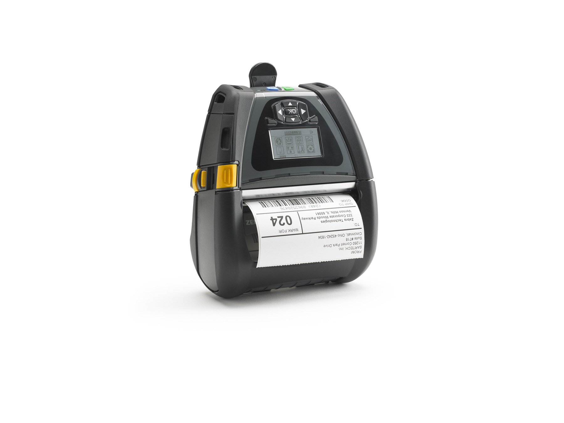 ZEBRA QLN420 DIRECT THERMAL MOBILE PRINTER 203 X 203DPI