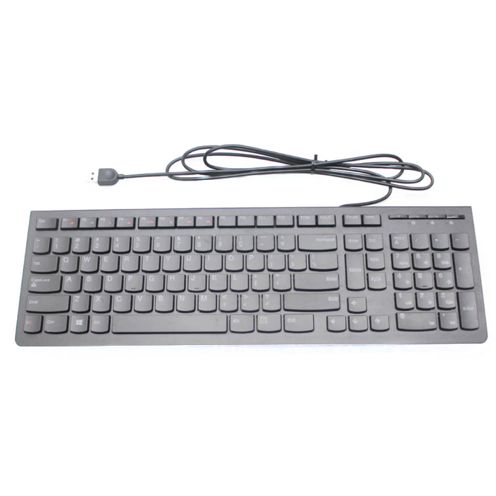LENOVO 25209126 USB SPANISH BLACK KEYBOARD