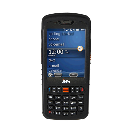 M3 MOBILE BLACK HANDHELD MOBILE COMPUTER 8.89 CM (3.5