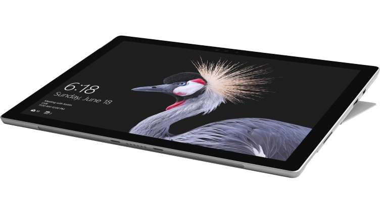 MICROSOFT HSR-00002 SURFACE NEW PRO + TYPE COVER 256GB BLACK, SILVER TABLET