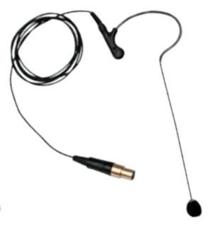 ClearOne WS-Loblavalier Stage/performance microphone Black